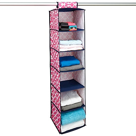 buy hanging closet organizer 39 s from bed bath beyond