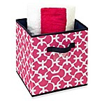 The Macbeth Collection Storage Cube in Pink Scout