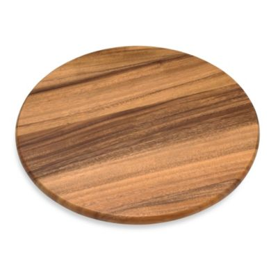Acacia 16-Inch Wood Lazy Susan
