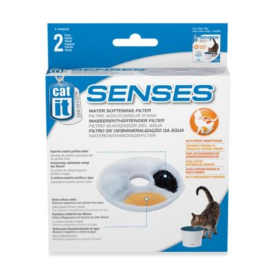 Catit Design Senses 2-Count Water Softening Replacement Filter
