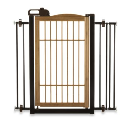 Richell® Take One-Touch Pet Bamboo Gate