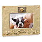 Who Rescued Who? 4-Inch by 6-Inch Photo Frame