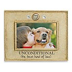 Unconditional in The Best Kind of Love 4-Inch by 6-Inch Photo Frame