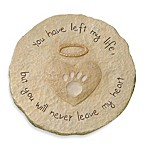 Cement Paw Print Stepping Stone