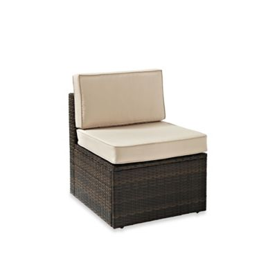 Palm Harbor Collection Outdoor Wicker Center Chair