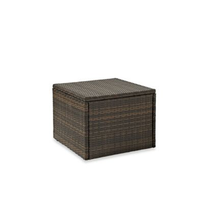 Palm Harbor Collection Outdoor Wicker Coffee Sectional Table