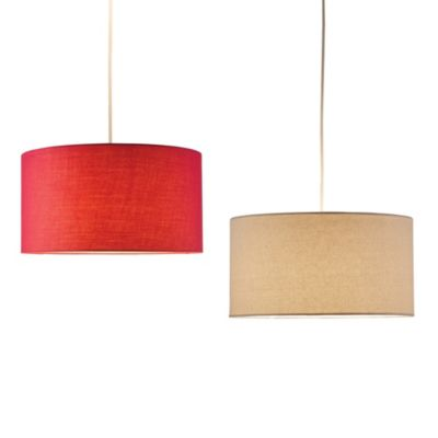 Adesso® Harvest Drum 1-Light Pendant Light