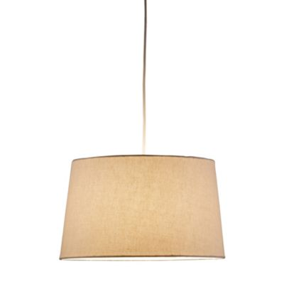 Adesso® Harvest Tapered Drum Pendant Light in Natural