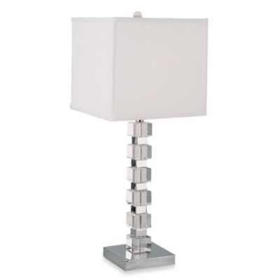 Bel Air Stacked Cubes Table Lamp
