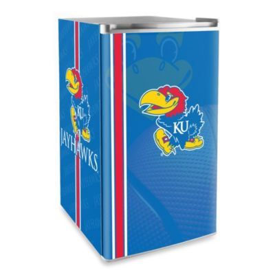 University of Kansas Licensed Counter Height Refrigerator