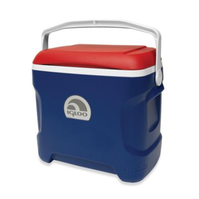 Igloo® Contour 30-Quart Cooler in Blue/Red/White