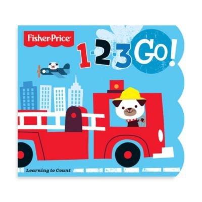 Fisher Price® 1-2-3 Go! Counting Book