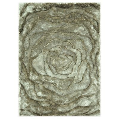 Loloi Rugs Glamour Shag 7-Foot 10-Inch x 11-Foot Rug in Beige
