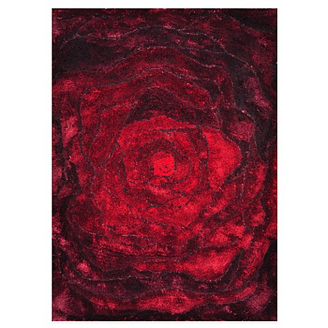 Loloi Rugs Glamour Shag Rug In Red Www Bedbathandbeyond Com