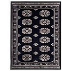 Bokhara Rug in Black
