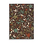 Oriental Weavers™ Sphinx™ Montego Leaves Indoor/Outdoor Rug in Brown