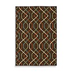 Oriental Weavers™ Sphinx™ Montego Zigzag Indoor/Outdoor Rug in Brown