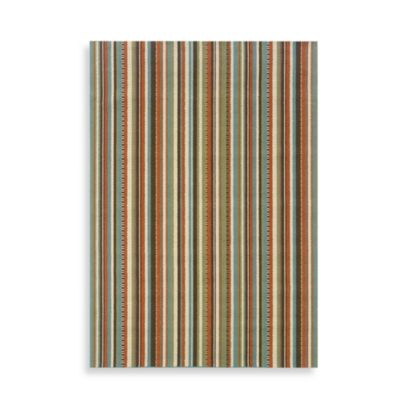 Oriental Weavers Montego Stripe 7-Foot 10-Inch Round Rug in Multi