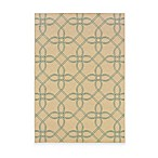 Oriental Weavers™ Sphinx™ Montego Tile Indoor/Outdoor Rug in Ivory/Blue