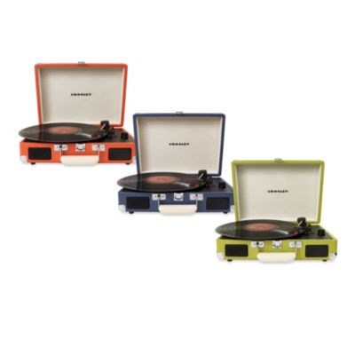 Crosley Radio Cruiser Portable Turntable in Orange