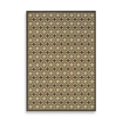 Oriental Weavers Montego Mini Medallion 8-Foot 6-Inch x 13-Foot Rug in Brown