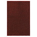 Mohawk Home Pin Stripe Rug in Madder Root