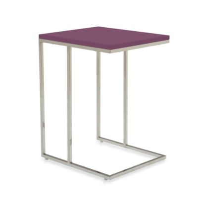 Moe's Home Collection Posta Side Table in Yellow