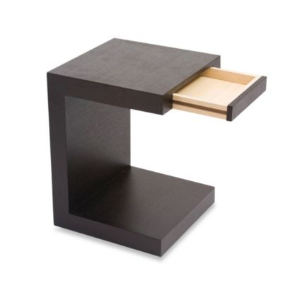 Moe's Home Collection ZIO Sidetable in Black Oak