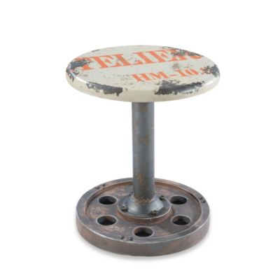 Moe's Home Collection Wheel Stool
