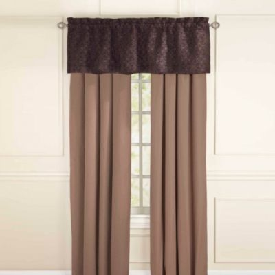 Sonoma Window Valance in Chocolate