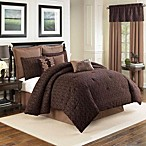 Sonoma 4-Piece Comforter Set in Chocolate