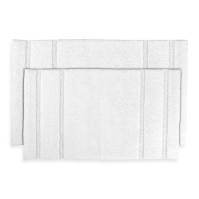 Majesty 2-Piece Bath Rug Set in White
