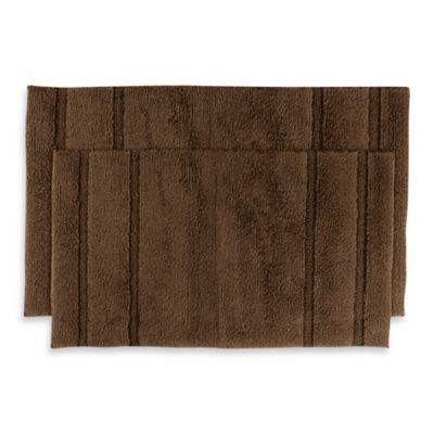 Buy Blue Brown Bath Rug From Bed Bath Amp Beyond