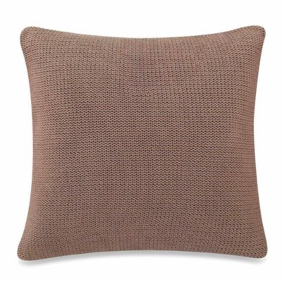 Sonoma Square Throw Pillow in Chocolate