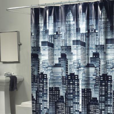 Skyline 70-Inch x 72-Inch Shower Curtain