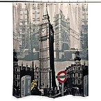 London Sights 70-Inch x 72-Inch Shower Curtain