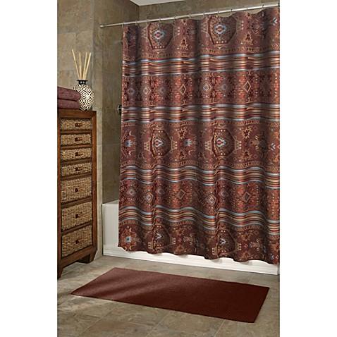 Veratex Pueblo 72 Inch X 75 Inch Shower Curtain Bed Bath Beyond