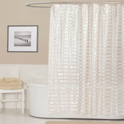 Royal Tide 72-Inch x 72-Inch Shower Curtain in Ivory