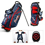 Atlanta Braves Fairway Stand Golf Bag