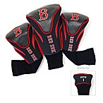 Boston Red Sox 3-Pack Contour Golf Club Headcovers