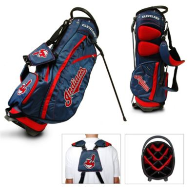 Cleveland Indians Fairway Stand Golf Bag