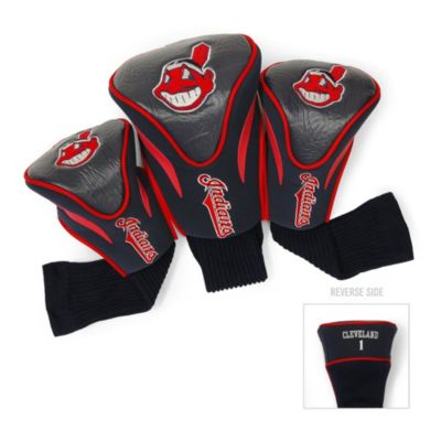 Cleveland Indians 3-Pack Contour Golf Club Headcovers