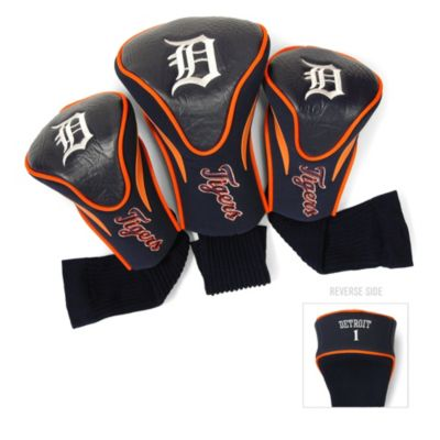 Detroit Tigers 3-Pack Contour Golf Club Headcovers