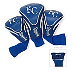 Kansas City Royals 3-Pack Contour Golf Club Headcovers