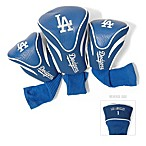 Los Angeles Dodgers 3-Pack Contour Golf Club Headcovers