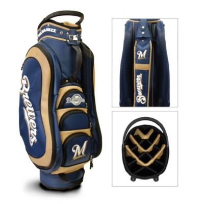 MLB Milwaukee Brewers Medalist Golf Cart Bag