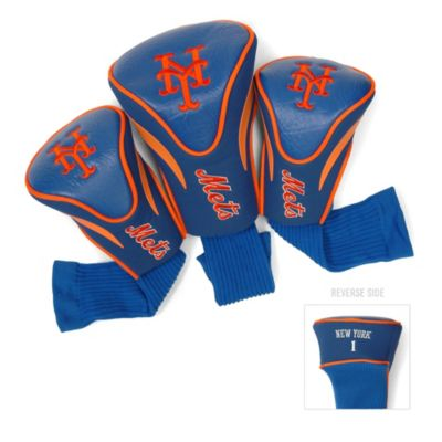 MLB New York Mets 3-Pack Contour Golf Club Headcovers