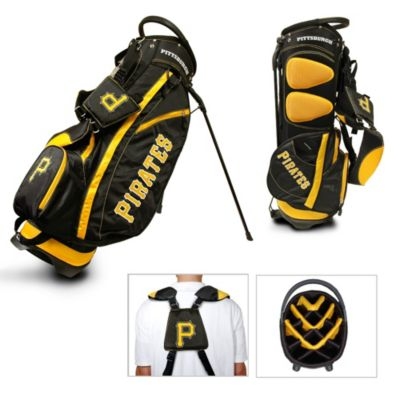 MLB Pittsburgh Pirates Fairway Stand Golf Bag