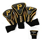 Pittsburgh Pirates 3-Pack Contour Golf Club Headcovers