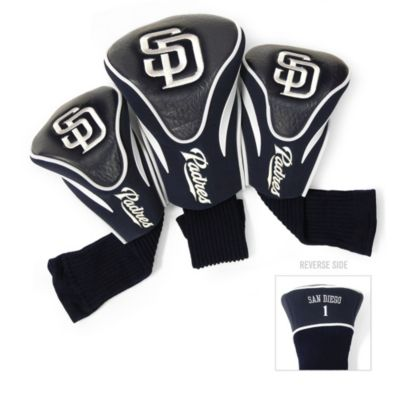 MLB San Diego Padres 3-Pack Contour Golf Club Headcovers